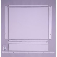 "Built-In Dishwasher 1/4"" Custom Trim Kit - White"
