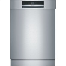 Benchmark® built-under dishwasher 24'' Stainless steel SHE89PW75N