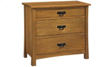 American Review Bedside Chest