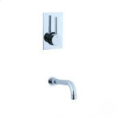 Techno - Techno Lavatory Faucet - Polished Chrome
