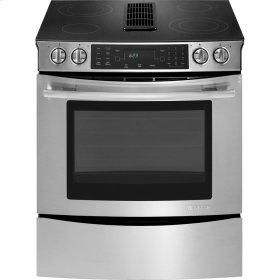 """30"""" Slide-In Electric Downdraft Range with Convection  Ranges  Jenn-Air"""