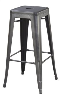 "Emerald Home Dakota II 30"" Bar Stool Gunmetal Gray D133-30"