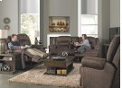 Reclining Console Loveseat w/Stor & Cuphol - Sable Product Image