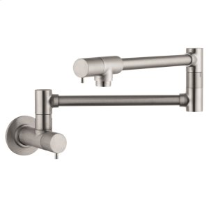 Steel Optic Talis S Pot Filler, Wall-Mounted Product Image