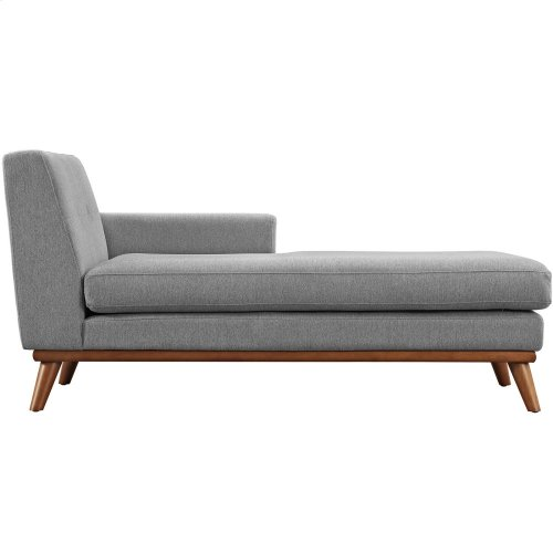 Engage Right-Facing Chaise in Expectation Gray