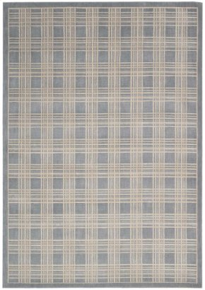 Hollywood Shimmer Ki102 Bl Rectangle Rug 3'9'' X 5'9''