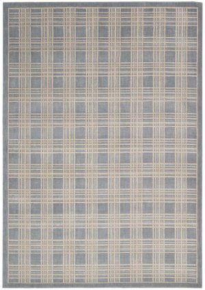 Hollywood Shimmer Ki102 Bl Rectangle Rug 9'3'' X 12'9''
