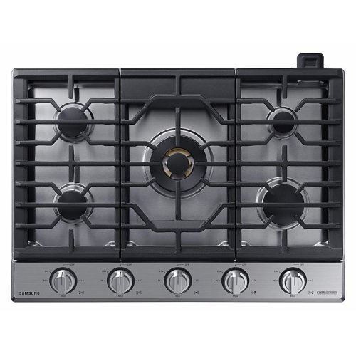 "30"" Gas Chef Collection Cooktop with 22K BTU Dual Power Burner (2018)"