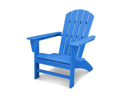 Vintage Pacific Blue Nautical Adirondack Chair in Vintage Finish