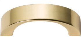 Tableau Curved Handle 1 7/16 Inch - French Gold