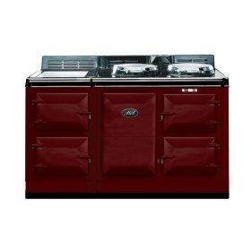 Claret 4-Oven AGA Cooker (electric) Electric fuelled cast-iron cooker
