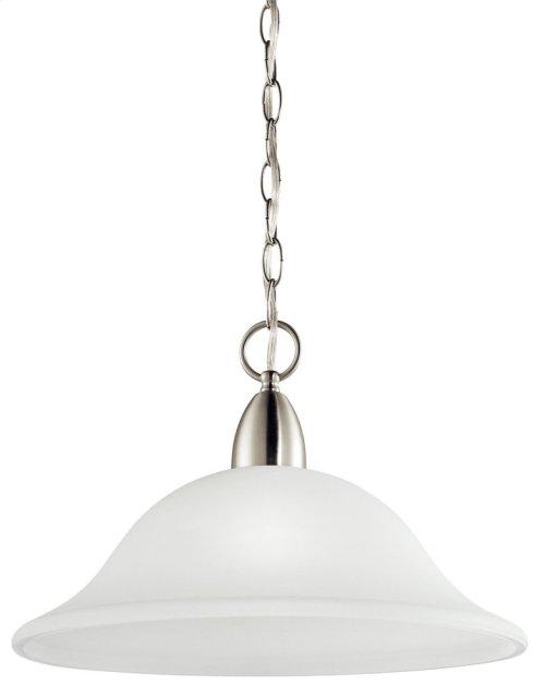 Nicholson 1 Light Pendant Brushed Nickel