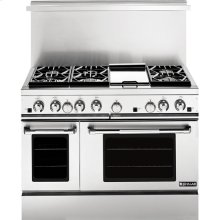 "48"" Pro-Style® Gas Range with Convection, Pro-Style® Stainless Handle"