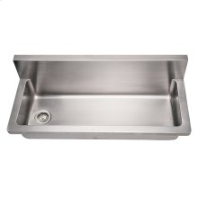Noah's Collection Utility Series single bowl wall mount commercial utility sink.
