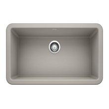 """Blanco Ikon® 30"""" Apron Front - Concrete Gray"""