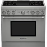 Thermador36-Inch Pro Harmony(R) Standard Depth Dual Fuel Range