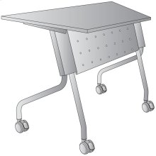 """46.5"""" Wide Trapezoid Table"""