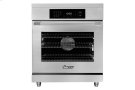"30"" Heritage Induction Pro Range, Silver Stainless Steel Product Image"