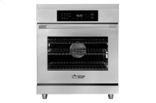 """30"""" Heritage Induction Pro Range, Silver Stainless Steel"""