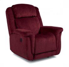 Updraft Fabric Power Rocking Recliner