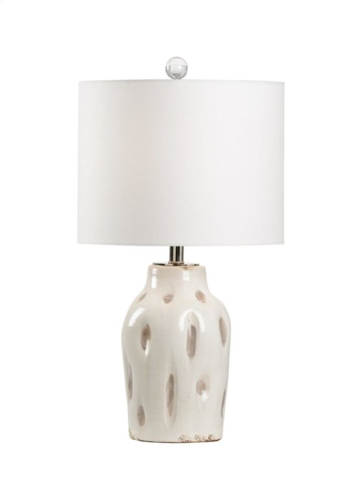 Dimples Large Lamp - Taupe
