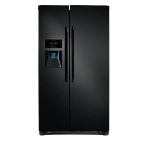 22.2 Cu. Ft. Counter-Depth Side-by-Side Refrigerator - EBONY BLACK