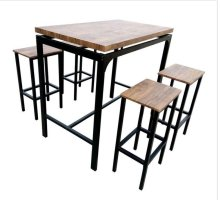 182002 Bar Height 5PC Dinette