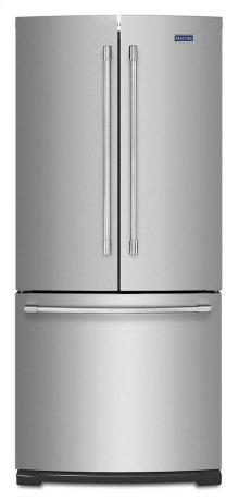 19.6 cu ft French Door Refrigerator with Strongbox Door Bins