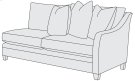 Sorenson Right Arm Loveseat in Mocha (751) Product Image