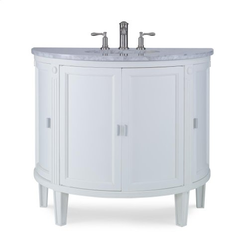 Park Avenue Sink Chest - White