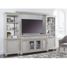 4PC ENTERTAINMENT WALL UNIT