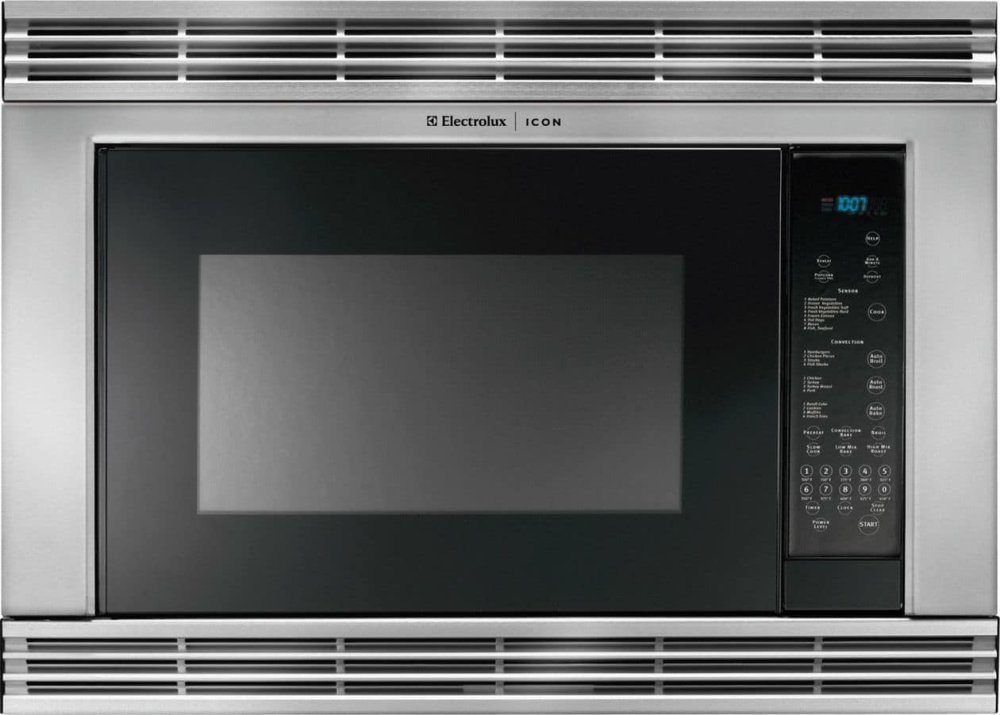 Electrolux Icon Reg Built In Microwave With Side Swing Door
