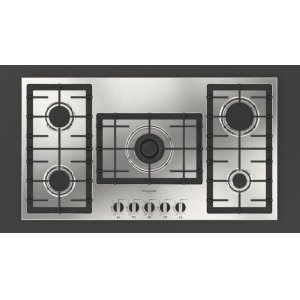"Fulgor Milano36"" Gas Cooktop - Stainless Steel"