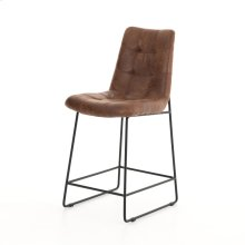 Counter Stool Size Vintage Tobacco Cover Camile Bar + Counter Stool
