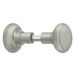 Accessory Knob Set for SDML334, Solid Brass - Brushed Nickel