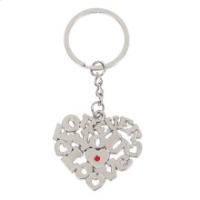 Love Heart Keychain