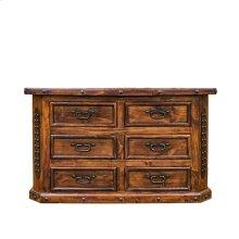 Fine Laquer 6 Drawer Dresser