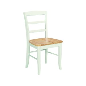 JOHN THOMAS FURNITUREMadrid Chair in White & Natural