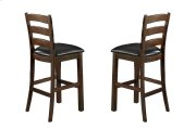 Emerald Home Castlegate Barstool Bonded Leather Seat Pine D942-30 Product Image