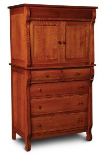 Empire Chest Armoire
