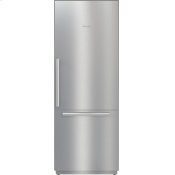 KF 2801 SF - MasterCool(TM) fridge-freezer with high-quality features and maximum storage space for exacting demands.