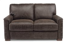 Lomax Leather Loveseat