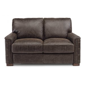 FLEXSTEELLomax Leather Loveseat