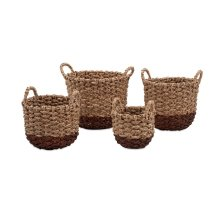 TY Persimmon Woven Baskets - Set of 4
