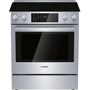 BoschElectric Slide-in Range 30'' Stainless steel