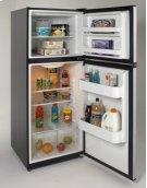 Model FF99D2P - 9.9 Cu. Ft. Frost Free Refrigerator - Black w/Platinum Finish Doors Product Image
