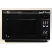 """1.2 CuFt (22"""") Over the Range Microwave Oven(Black)"""