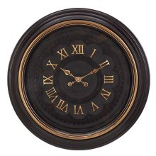 BROWN FINISH WITH GOLD RING / BROWN 3D FACE WITH GOLD ROMAN NUMBERS