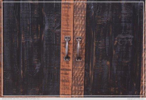 Universal Pier w/2 Mesh Doors
