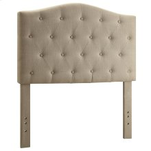 "Grace 39"" Headboard in Natural Linen"